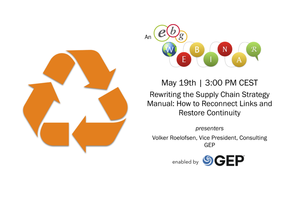 EBG | Webinar: Rewriting the Supply Chain Strategy Manual: How to Reconnect Links and Restore Continuity
